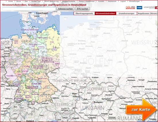 Karte Mit Hausnummern.Energiemarktdaten Interaktive Karte Zur Stromversorgung